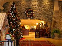 Fairmont Banff Springs Hotel Christmas