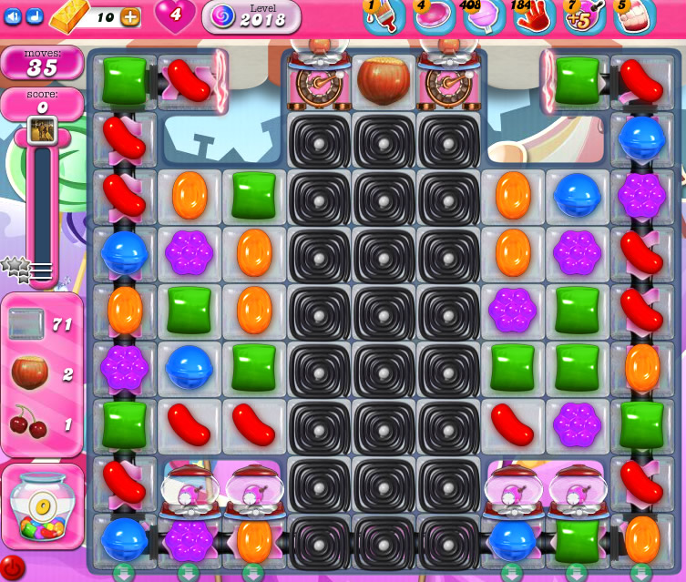 Candy Crush Saga 2018