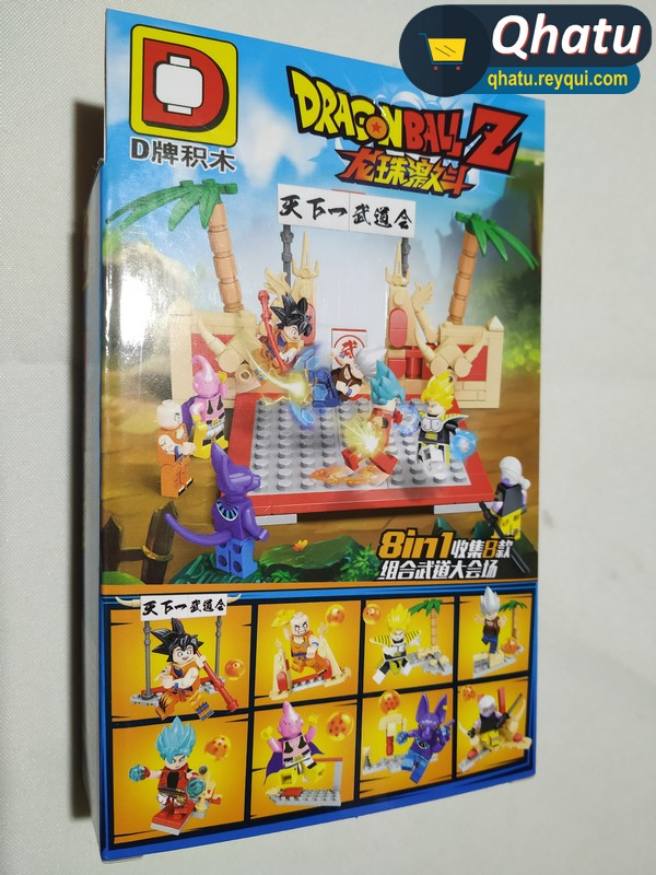 (Bs. 75) Legos de Dragon Ball: Combo de 8 personajes