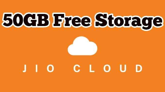 JioCloud - Free Cloud Storage