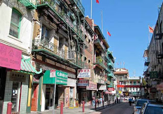 Waverly Street China Town San Francisco California