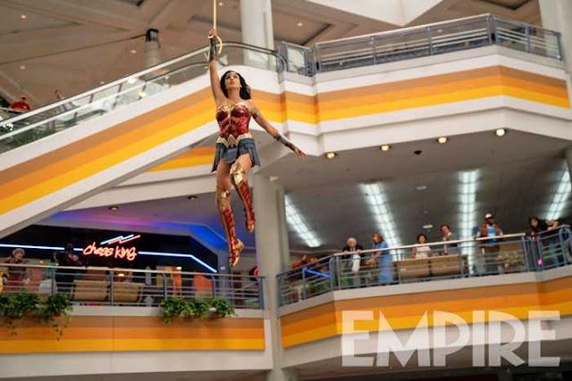Mulher-Maravilha usa seu laço em imagem inédita do novo filme