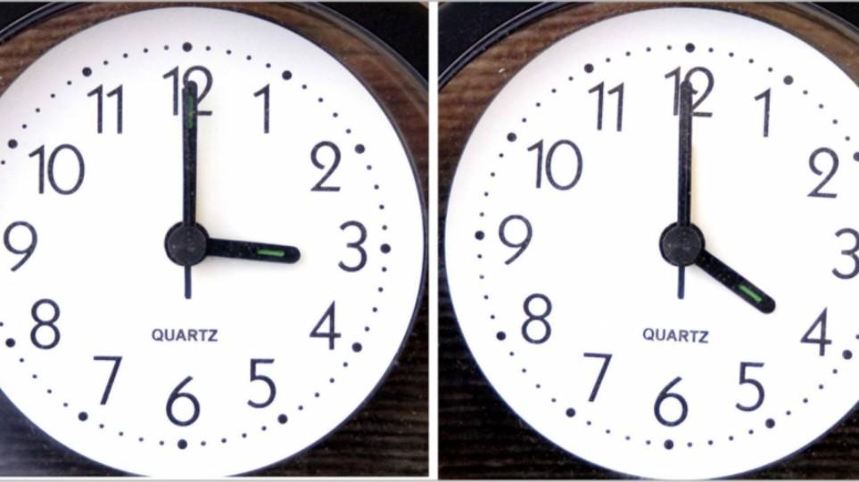 Αλλαγή ώρας 2021: Πότε γυρνάμε τα ρολόγια μας