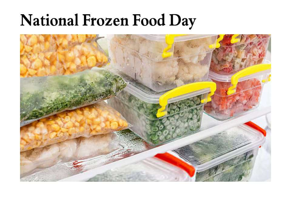 National Frozen Food Day Wishes Beautiful Image
