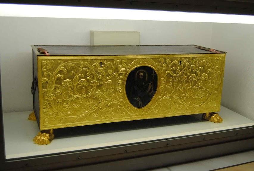 Urna com as relíquias de Santo Tomé Apóstol, Ortona, Itália