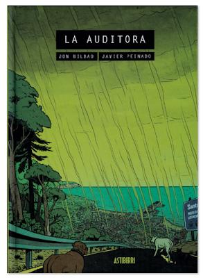 La Auditora  de Jon Bilbao y Javier Peinado  Astiberri, comic ciencia ficción