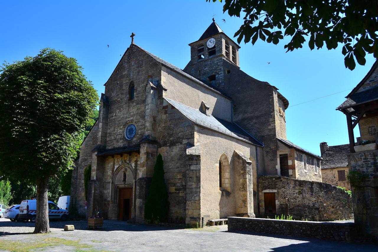 Eglise Sainte Eulalie d'Olt