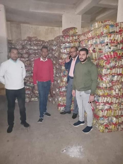 ضبط  30 طن ارز  غير صالح للاستهلاك الادمي محمله علي احد سيارات النقل بسوهاج