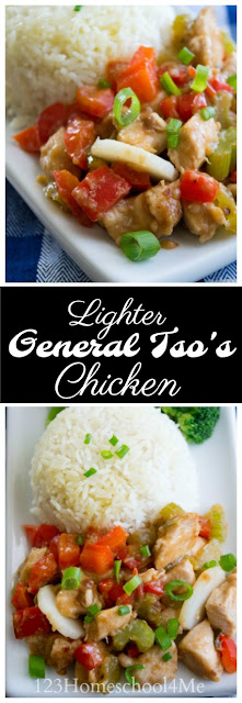 General Tso Chicken Recipe - this Chinese food recipe is not only an easy Chinese recipes, but is super yummy and you control the quality of the ingredients. This is a family favorite recipe your whole family will love!