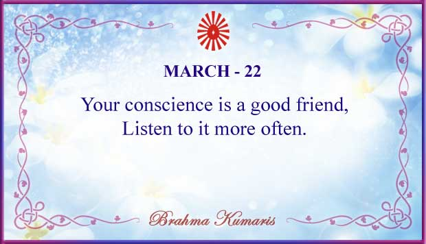 Thought For The Day March 22