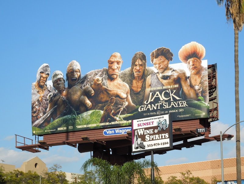 Jack Giant Slayer special extension movie billboard