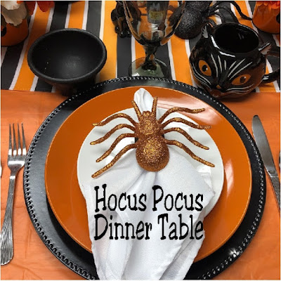 Hocus Pocus Dinner Table