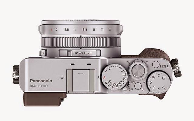 Fotografia dall'alto della Panasonic Lumix DMC-LX100