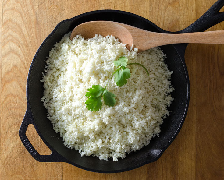 HOW TO MAKE CAULIFLOWER RICE RECIPE
