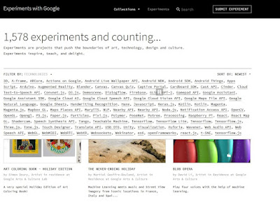 Google Easter Eggs de Experiments with Google