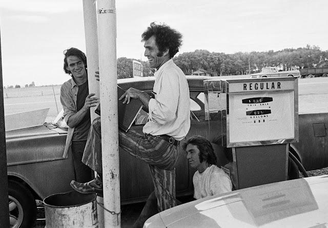 Filming Two-Lane Blacktop: James Taylor, Monte Hellman and Dennis Wilson