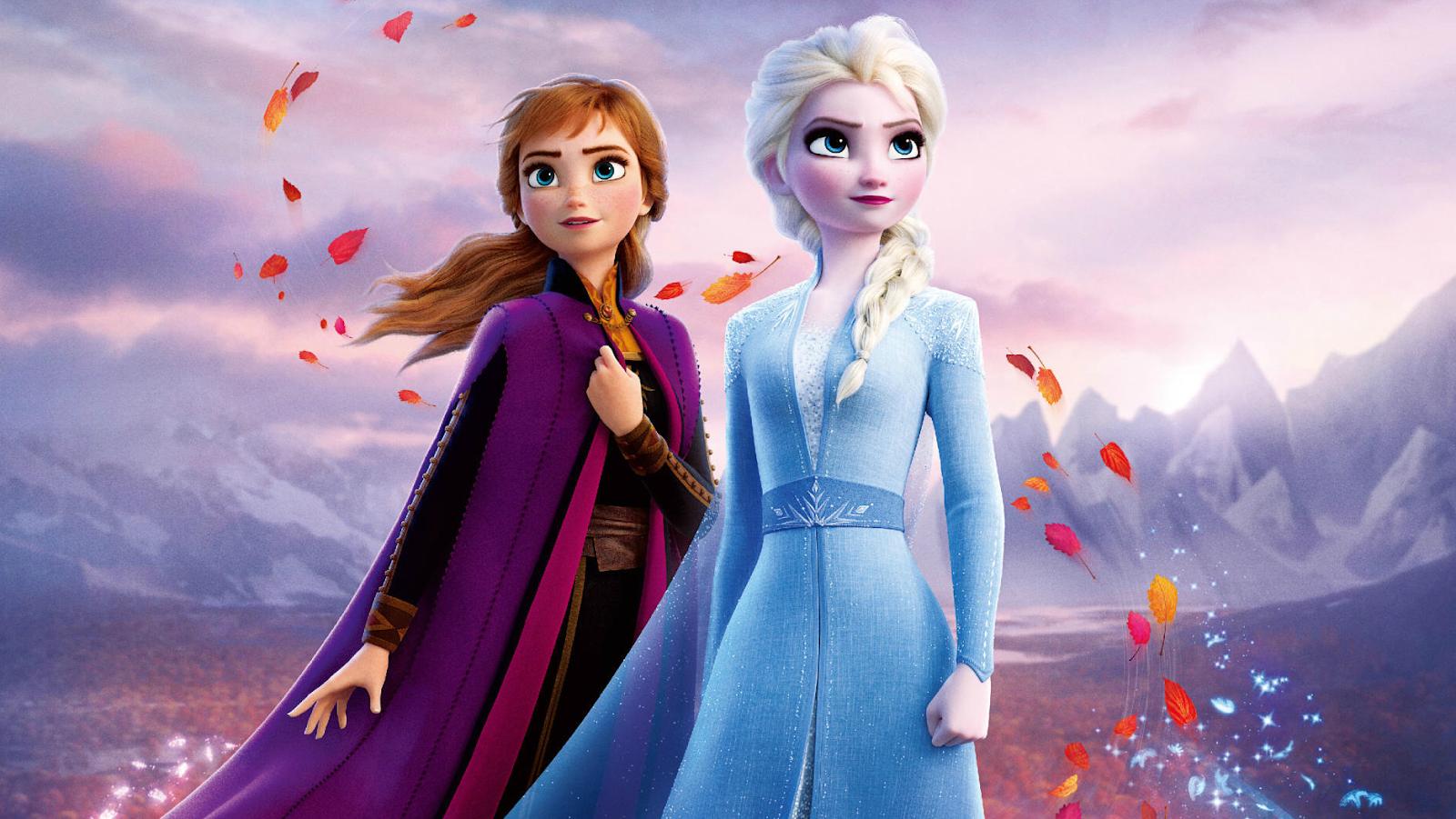 Frozen 2 Anna Elsa Disney