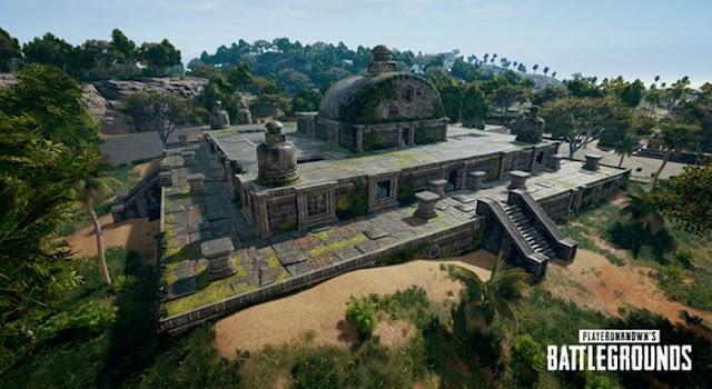 Tempat Loot Terbaik PUBG Mobile Ruins Map Sanhok