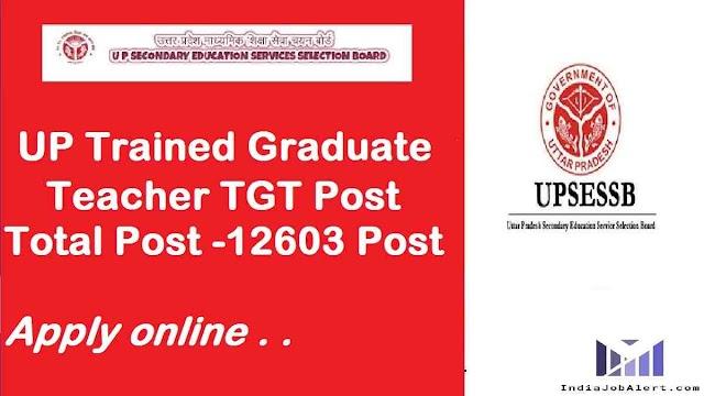 UP TGT Teacher 2021 online Form