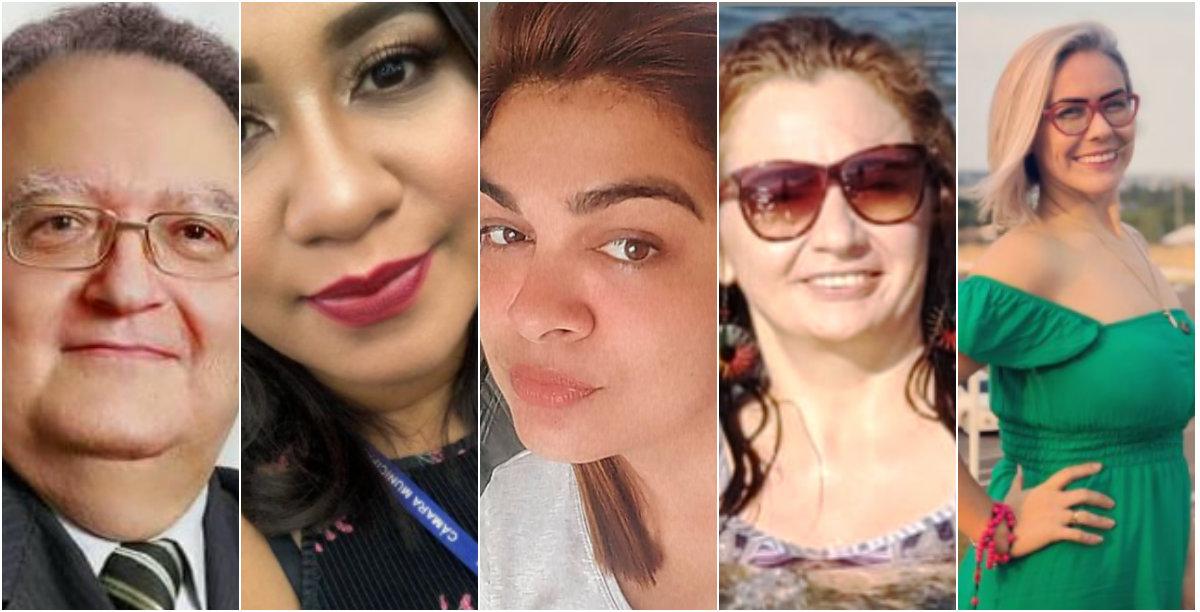 Holofotes em 5 VIPs: Rosa Rodrigues, Márcia, Fernanda, Alene Liberal e Vicente