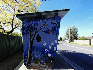 Mount Riverview | Painted Bus Shelter