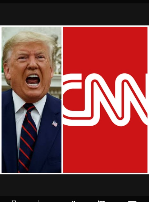 CNN is fake news, they are a Joke - Donald Trump