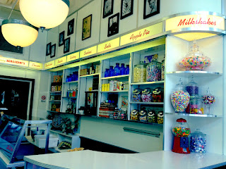ice cream shop, universal orlando