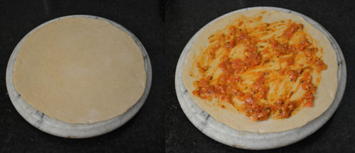 Pizza Paratha Recipe