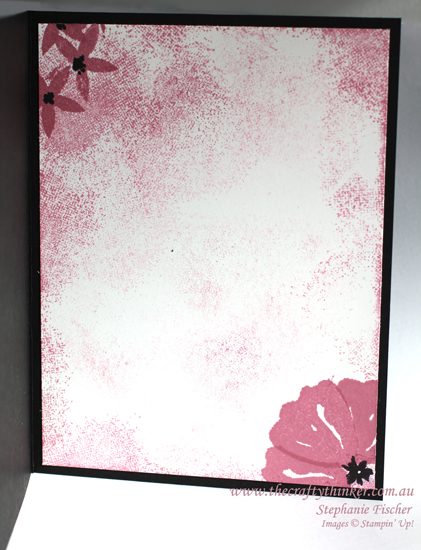 Stampin Up, #thecraftythinker, Bunch of Blossoms, Touch of Texture, Floral card, Stampin Up Australia Demonstrator