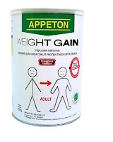 Appeton Weight Gain Adult Coklat  450 gr