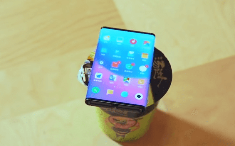 The size of Xiaomi's folding device looks to be fairly small but wide