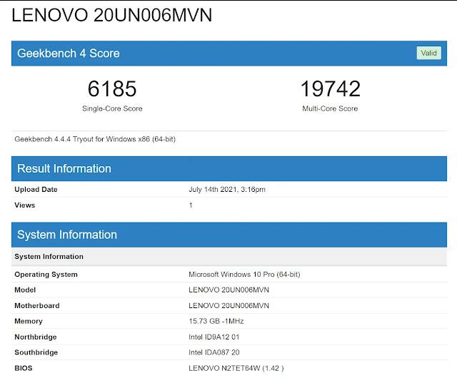6,185 single-core and 19,742 multi-core...