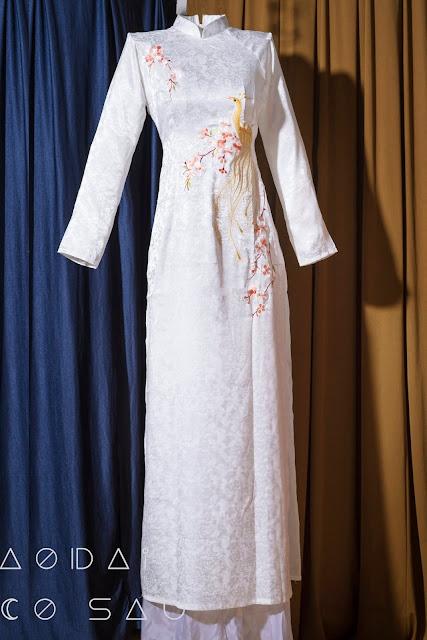 áo dài cưới truyền thống đẹp
