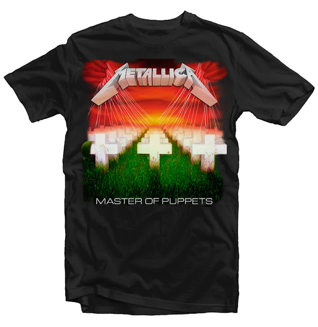 master of puppets t-shirt design