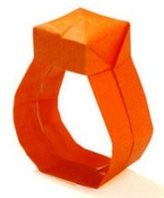 cincin 1 cara membuat dari kertas