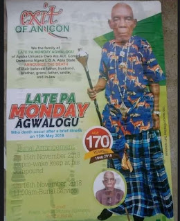 Nigerians  react to the news Nigerian oldest Man, who died at the age of 170.