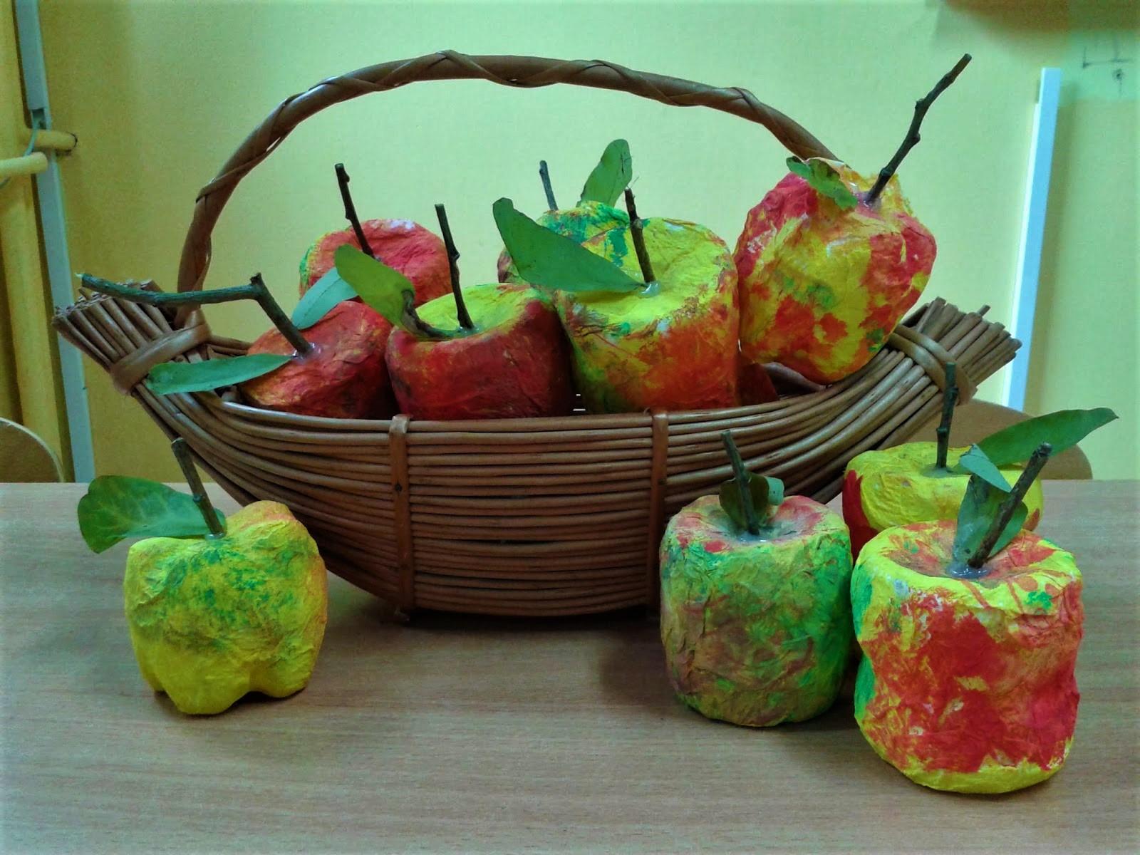 Jabłuszka z recyklingu - jesienne DIY