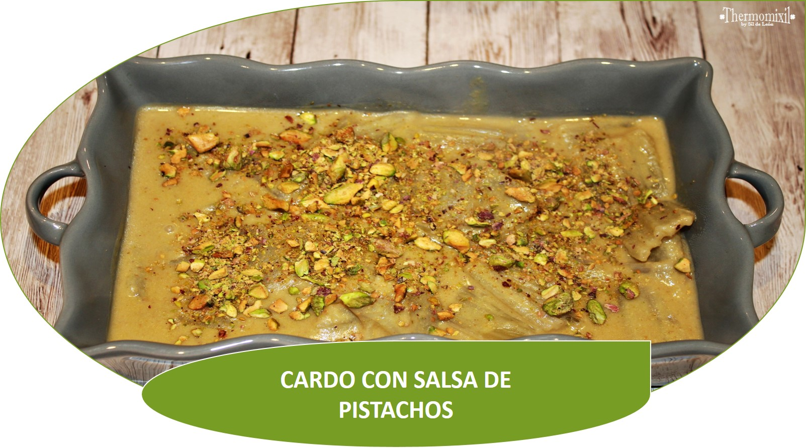 CARDO CON SALSA DE PISTACHOS