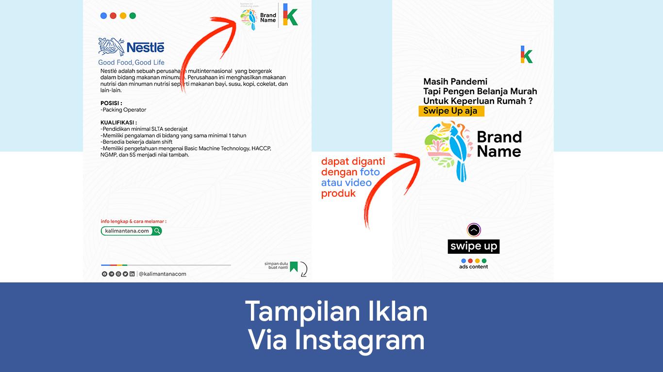 Iklan Media Sosial Kalimantana.com