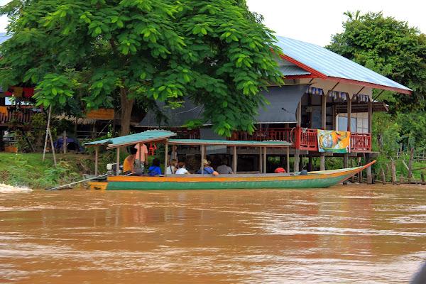 Embarcadero de Si Phan Don - las 4000 islas del Mekong