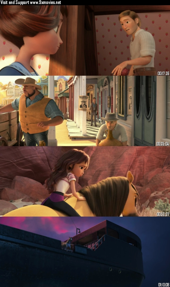 Spirit Untamed The Movie 2021 English 720p WEB-DL 750MB ESubs