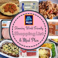 aldi slimming world meals, aldi slimming world, slimming world shopping list aldi, aldi slimming world meal plan, slimming world aldi