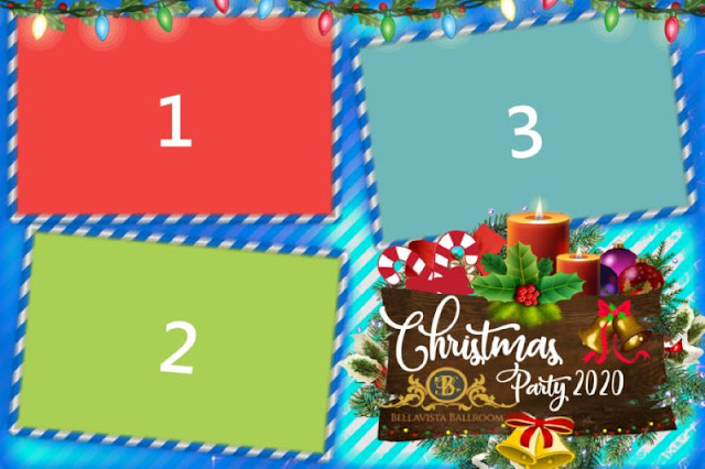 Christmas photobooth templates free (Dslrbooth)