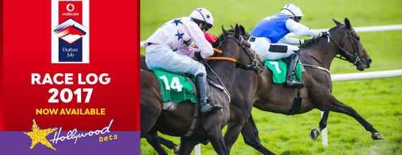 Vodacom Durban July Race Log 2017 - Now Available - Hollywoodbets