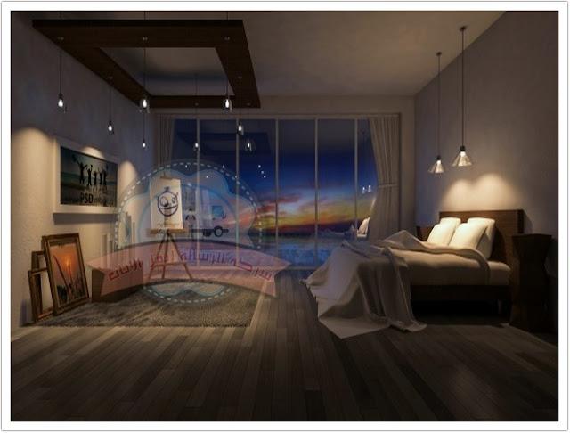كيف تصمم غرفة المعيشة مع ورق الحائط