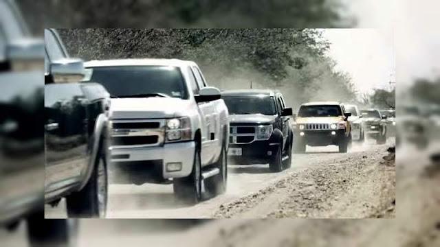 Por movilización de sicarios y balaceras CJNG vs Viagras evacúan la Presidencia Municipal de Tocumbo, Michoacán
