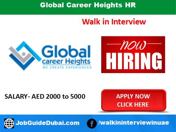 Global Career Heights HR career for sales executive jobs in Dubai UAE