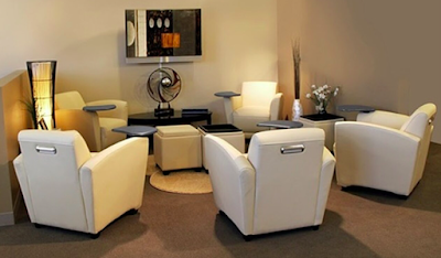 waiting room accent furniture