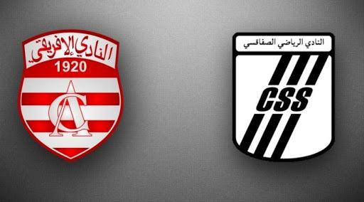 بث مباشر مباراة الصفاقسي والافريقي التونسي
