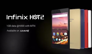Infinix Hot 2 (Android One) will likely get 6.0 marshmallow update Very Soon price in nigeria